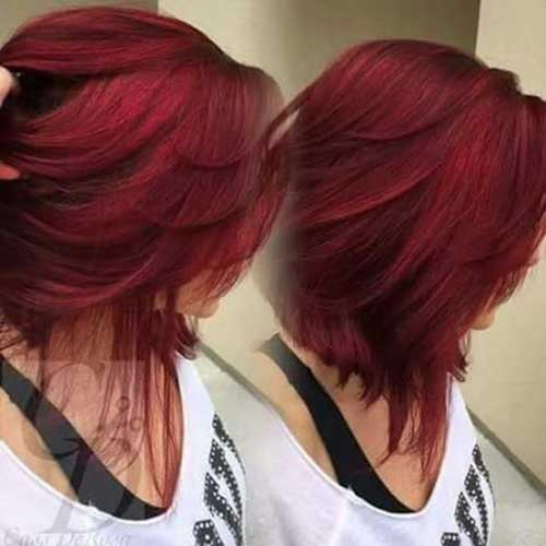 Cabello rojo color-18