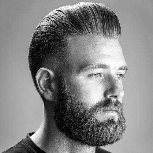 peinados de pomp bien conservados para hombres
