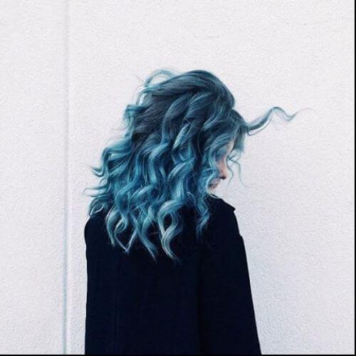 rizos suaves azules