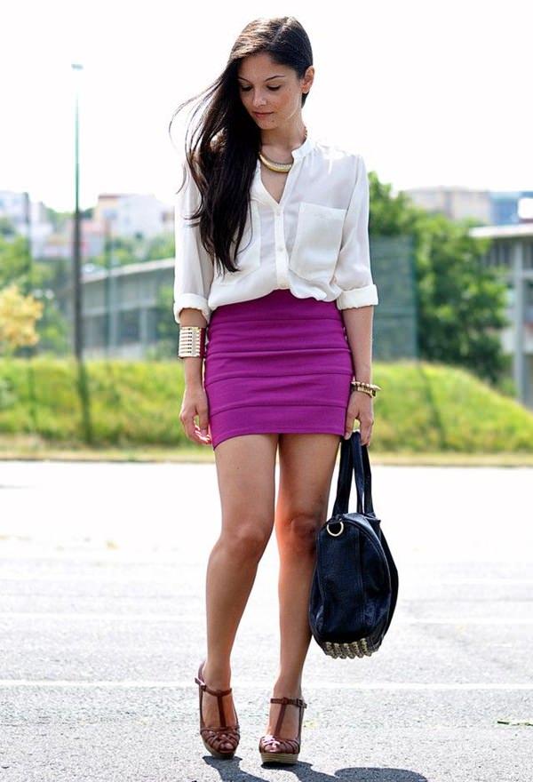 trajes de falda lápiz