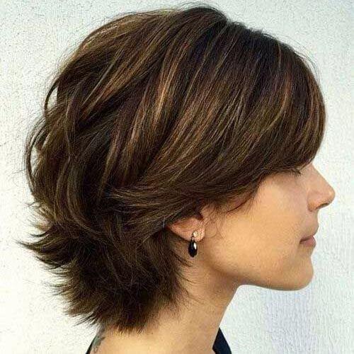 corte de pelo bob en capas