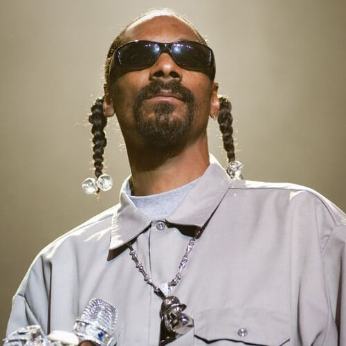 Snoop Dogg trenzas para hombres