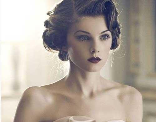 Peinados de boda vintage