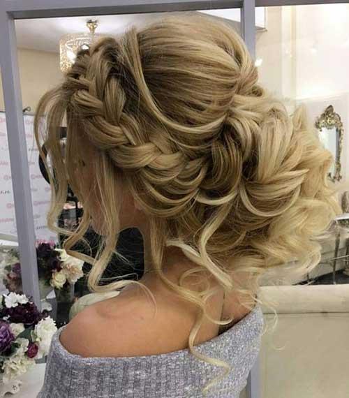 Peinados para bodas cabello largo