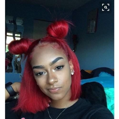 galaxy knots bob peinados para mujeres negras