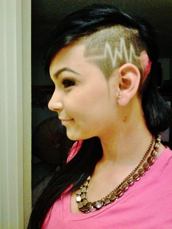 peinados afeitados para mujeres 46