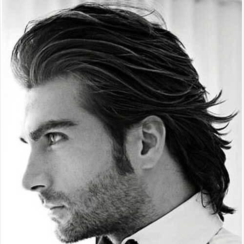 Peinados elegantes peinados hacia atrás