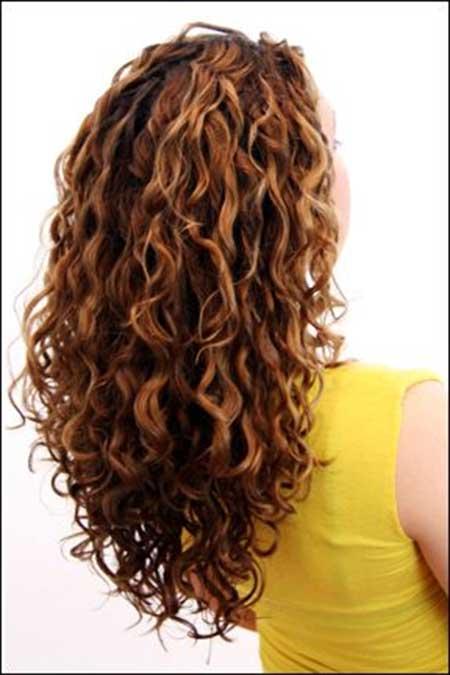 Peinados rizados