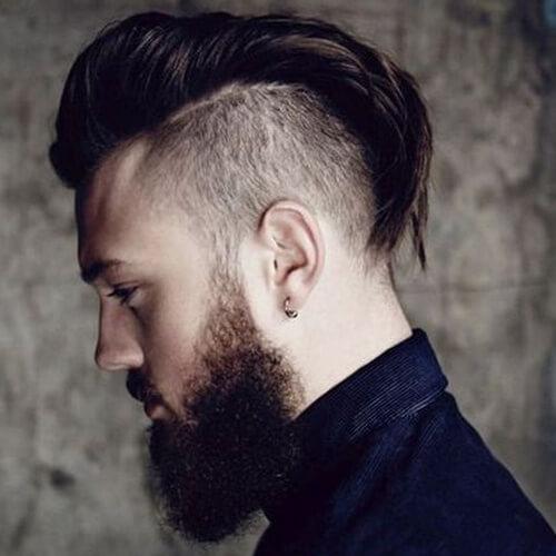 Peinados con estilo Mohawk para hombres