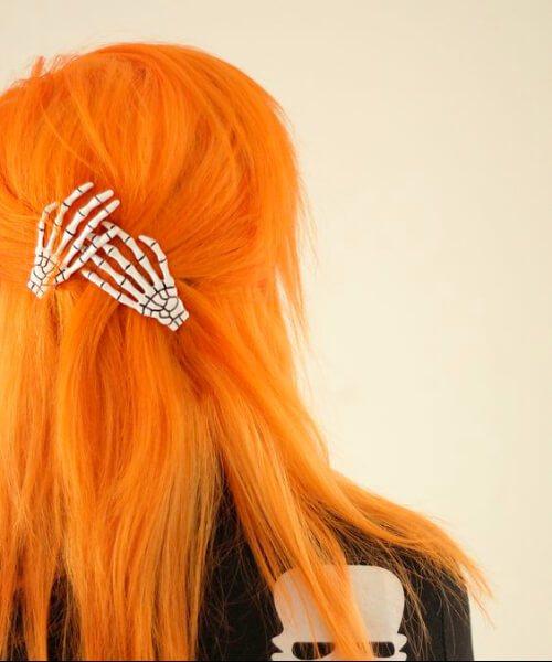 colores de pelo de otoño de halloween