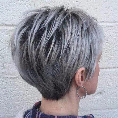 corte gris pixie