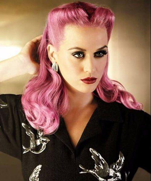 katy perry pin up peinados