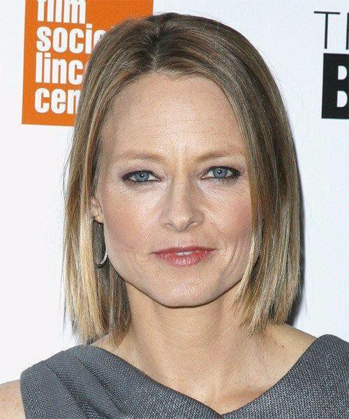 jodie foster hairstyles para mujeres mayores de 50 años