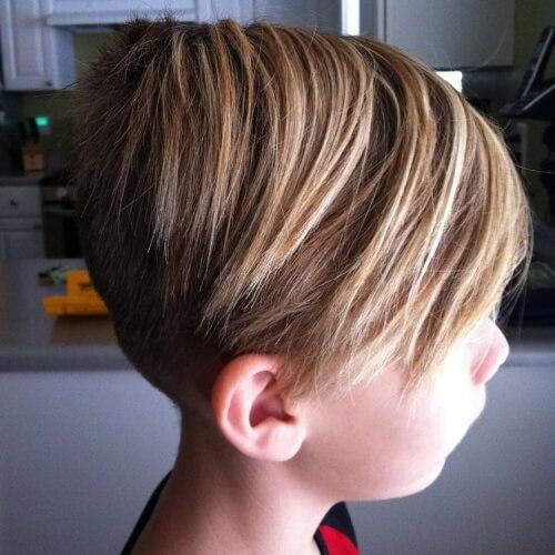 Corte de pelo skater para niños