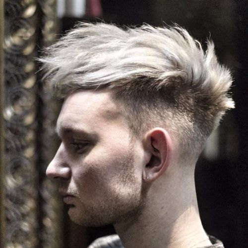 Edgy Undercut Faux Hawk