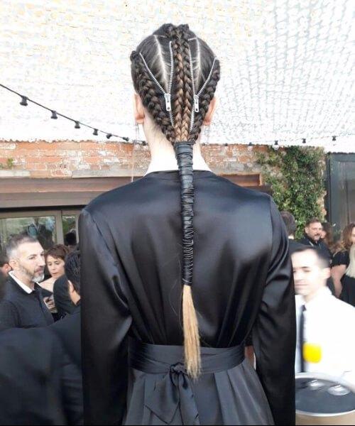 peinados artísticos para el cabello fino