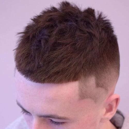 Peinado puntiagudo