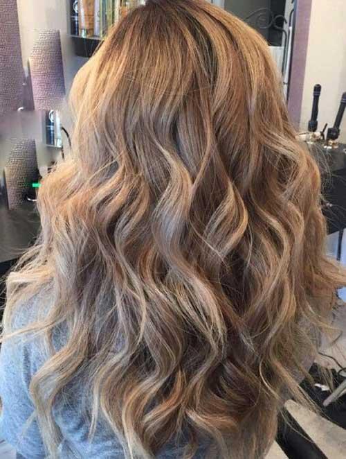 Largo cabello rubio oscuro-16
