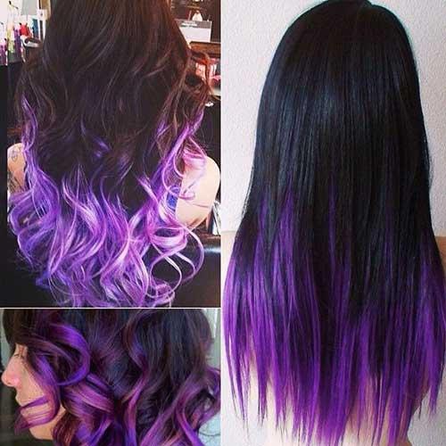 Ombre Color Hair Ideas