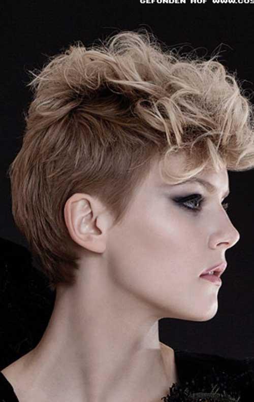 Peinados punk para cabello rizado-17