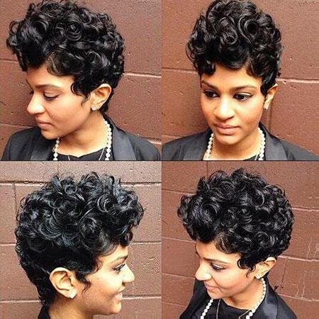 Cortes de pelo cortos para mujer negra - 16