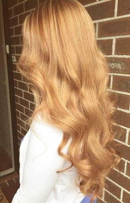 16 Mejor Color De Cabello Rubio Miel 187 Largo Peinados