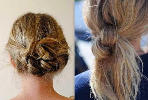 Mejores Updos para cabello de longitud media