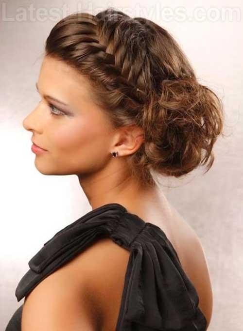 Cool Updo Roman Goddess Peinados