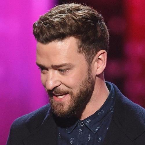 Espeso Justin Timberlake peinados