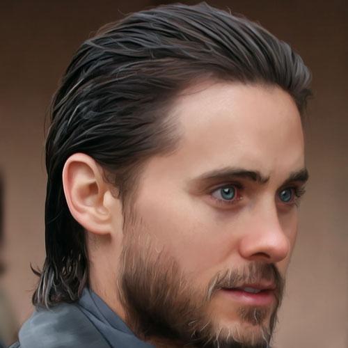peinado hacia atrás peinados de longitud media para hombres