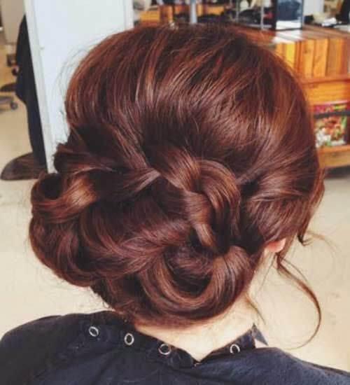 color de pelo castaño elegante