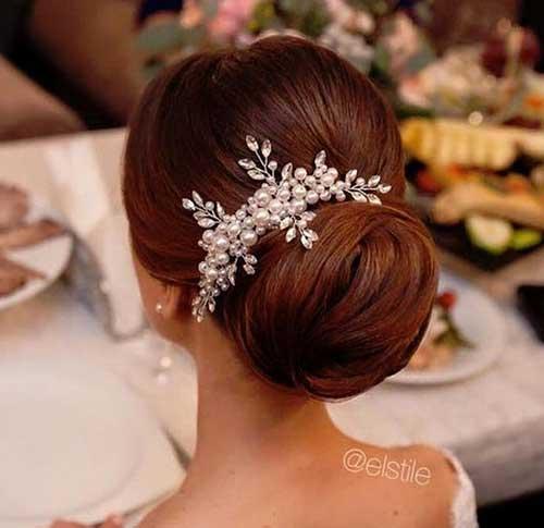 Bollo de pelo de boda