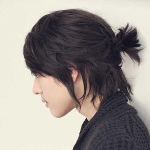 Peinado medio arriba