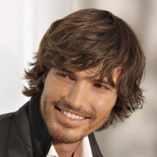 Modernos peinados largos para hombres