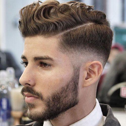 Peinado ondulado
