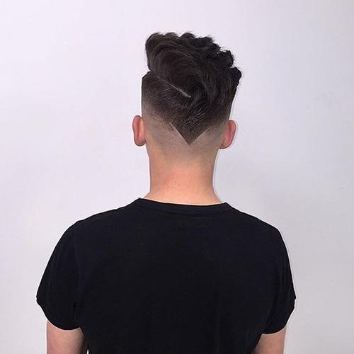 Cortos cortos Peinados largos superiores con espalda en forma de V