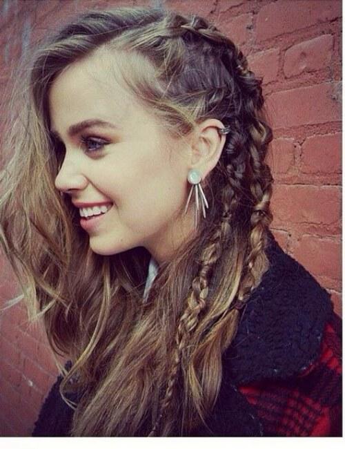 vikingos para cabello largo