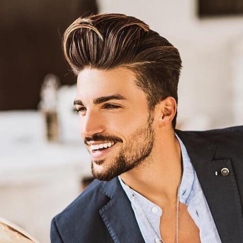 Business Casual Hairstyles: 50 Peinados Casuales De Negocios Para Hombres » Largo Peinados