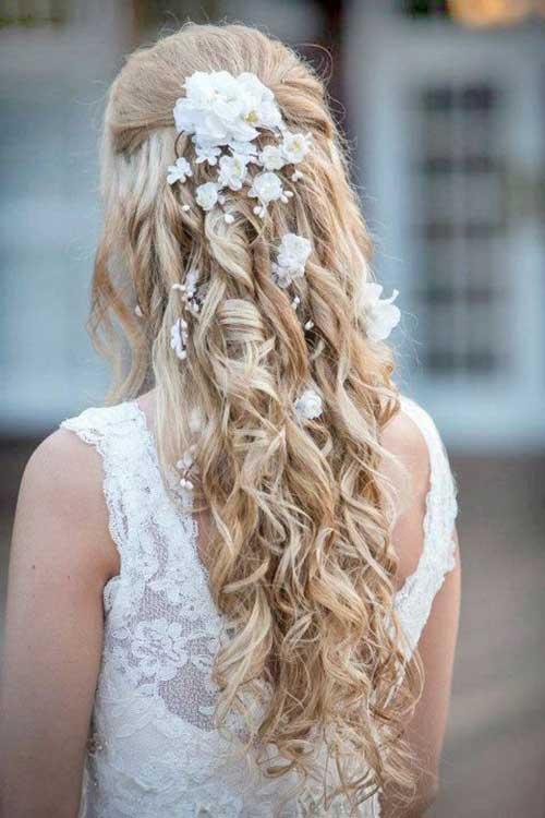 Estilos de cabello de la boda para cabello largo-18