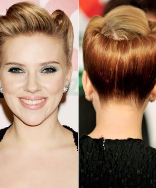 escarlata johansson pin up peinados