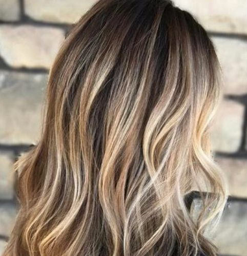 bronde balayage color de cabello