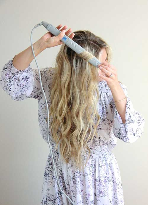 Cortezas de pelo largo ondulado-9