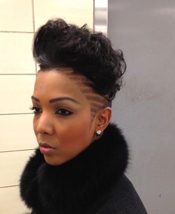 peinados afeitados para mujeres 42