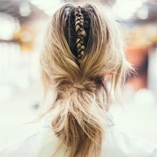 peinados para cabello fino