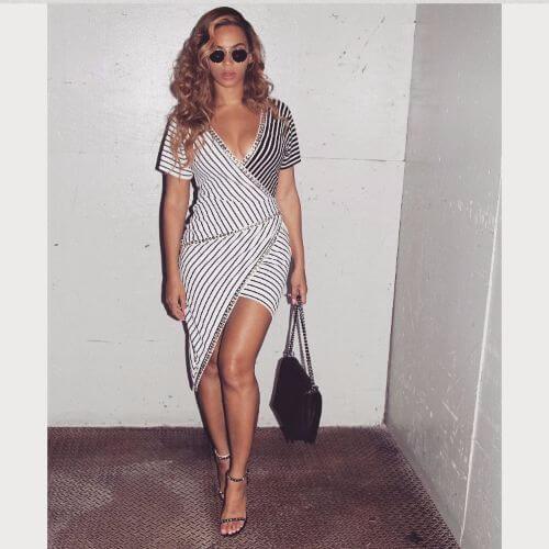 mirada suave de los rizos de Beyonce