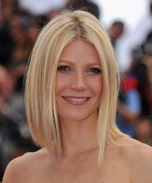 gwyneth paltrow golden short blonde hair
