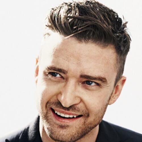 Desordenado Justin Timberlake peinados