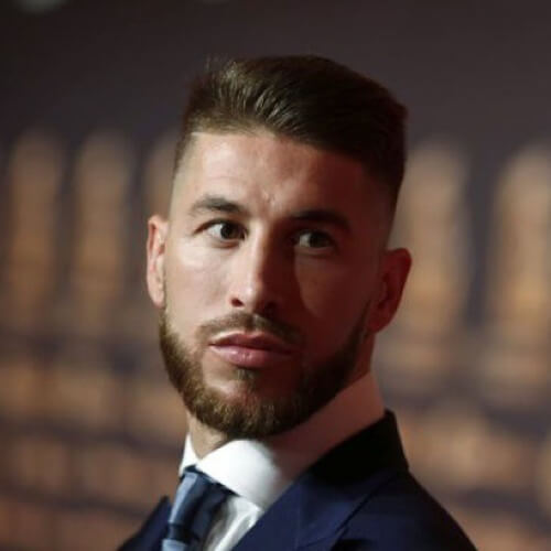 Pie plano Sergio Ramos corte de pelo