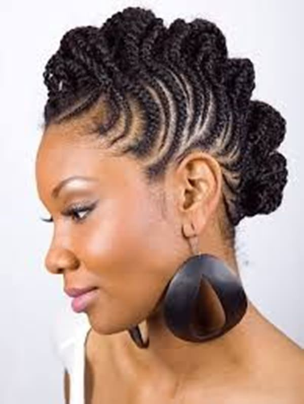 peinados cortos para mujeres negras 51