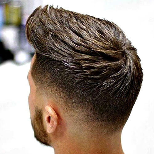 Peinado superior texturizado
